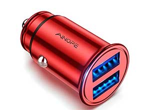 Dual Port 4.8A All Metal Car Charger Adapter
