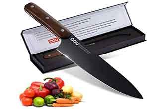 German S Steel 8 Inch Chefs Knife Wooden Handle