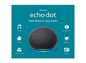 Echo Dot 4th Gen Smart speaker with Alexa