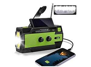 Radio Lamp Power Bank USB Charger and SOS
