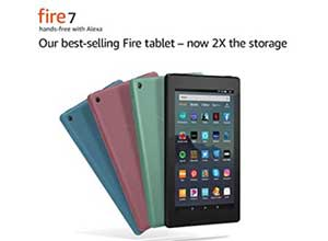 Fire 7 tablet 7inch display