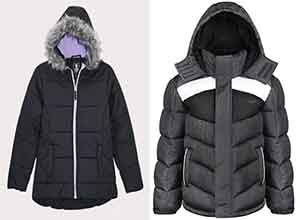 Puffer Coats and Jackets for kids