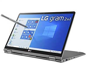 LG Gram 2-in-1 Convertible Laptop