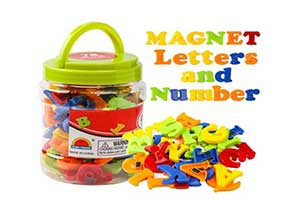 Magnetic Alphabet Magnets Letters and Numbers