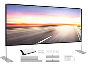 100 inch Portable Projector Screen with Stand