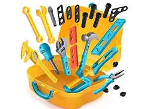Geyiie Toy Tools for Toddlers 28 Pieces