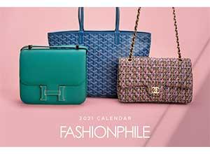 Fashionphile 2021 Calendar