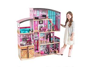 KidKraft Shimmer Mansion with 30 Accessories