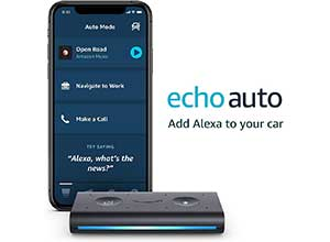 Echo Auto Hands-free Alexa in your car