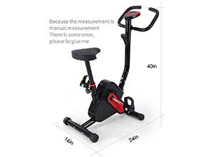 Indoor Cycling Bike with LCD Display