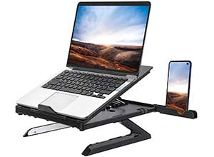 Multi Angle Adjustable Laptop Stand with Heat Vent