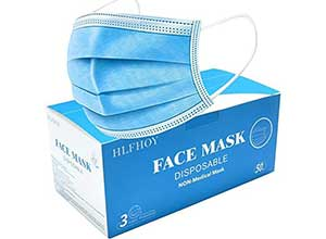 Disposable 3 Layers Face Mask