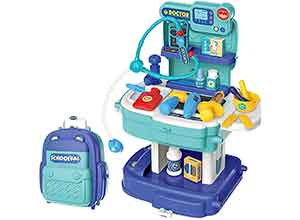 Pretend Play Engineering Tool Set with Carry Case