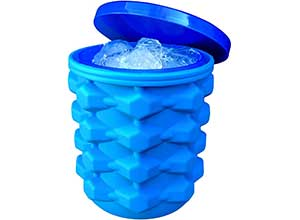 The Ultimate Ice Cube Maker Silicone Bucket