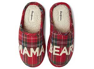 Dearfoams Womens Mama Bear Slipper
