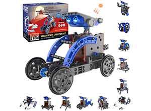 Solar Robot Kit 12 in 1 Educational Building Toys