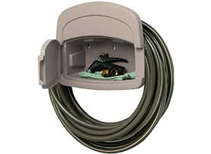 Hose Hangout with Storage Compartment