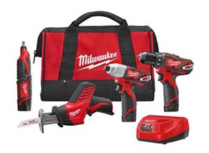 M12 Lithium-Ion Cordless Combo Tool Kit