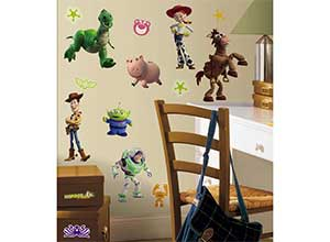 RoomMates Toy Story 3 Glow In The Dark Wall Decals