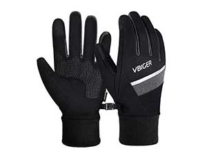 Winter Gloves with Reflective Strips