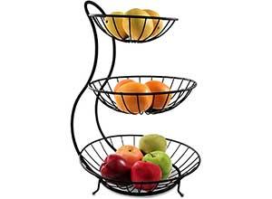 3 Tier Modern Fruit Basket Stand
