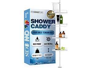 Standing Shower Caddy Tension Pole