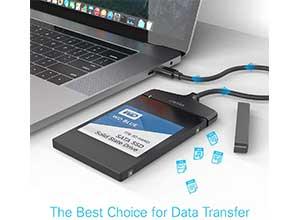 Unitek USB C Hard Drive HDD SATA Connector