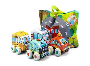 UNIH Pull Back Vehicle Baby Toys