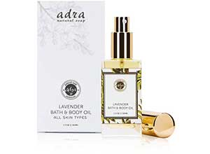 Free sample of Lavender Bath and Body Oil