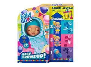 Baby Alive Baby Grows up Bonus Pack