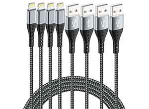 iPhone Charger Lightning Cable 4Pack
