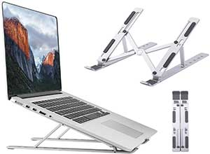 Foldable Portable Laptop Holder Tablet Stand