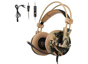 Gaming Headset for PS4 Xbox one PC MAC