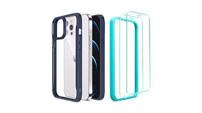 iPhone Pro Case w/ 2 Screen Protectors