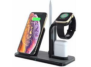 Qi Certified 10W Wireless Charging Station