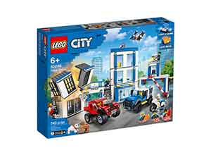 LEGO City Police Station Building Block Set