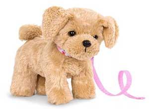 Pet Dog Plush with Posable Legs