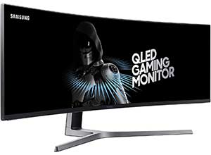 SAMSUNG LC49RG90SSNXZA 49-Inch Curved Gaming Monitor