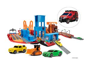 MICROMACHINES Large Playset Super Van City