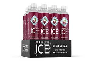 Sparkling Ice Black Cherry Sparkling Water