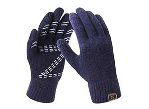 Mens Thermal Soft Winter Gloves Warm