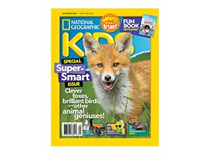 National Geographic Kids Print Magazine