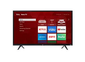 TCL 40inch FHD LED Roku Smart TV 3 Series 40S325