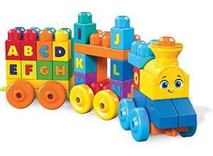 Mega Bloks - ABC Musical Train