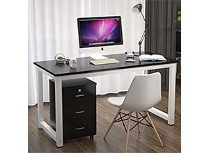 Ktaxon Wood Computer Desk PC Laptop Table