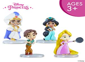 Disney Princess Comics 2-Inch Collectible Dolls