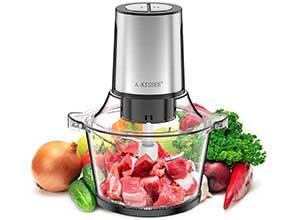 8 Cup 300W Electric Food Processor