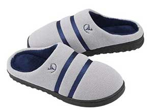 Mens and Womens Cozy Memory Foam Slippers