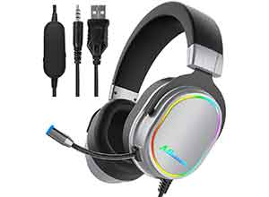 3.5mm wired Over-ear Stereo Gaming Headset
