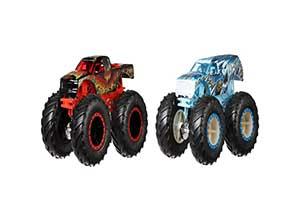 Hot Wheels Monster Trucks Demo Doubles 2 Pack